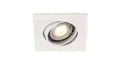 SLV 113211 — Светильник потолочный встраиваемый SQUARE GU10 Downlight