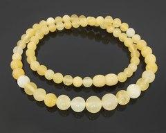 бусы шары из калининградского янтаря