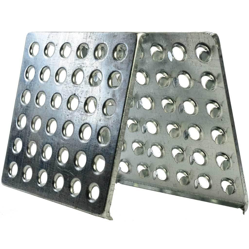 Металлическая плитка 300х300х1,5 (оцинкованная сталь)