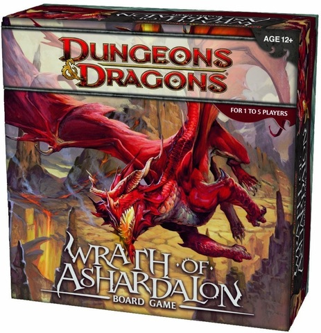 D&D – Wrath of Ashardalon Board Game / Гнев Ашардалона