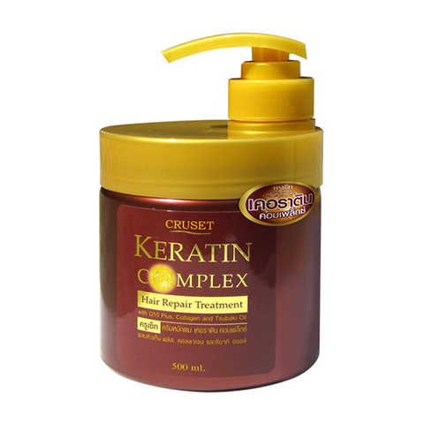 Cruset Keratin Complex Hair Repair Treatment 500 ml