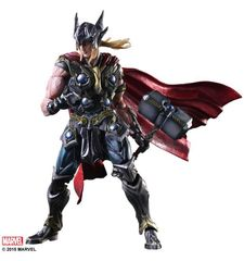Марвел комикс фигурка Тор (копия) — Thor Marvel Comics Play Arts Kai (copy)