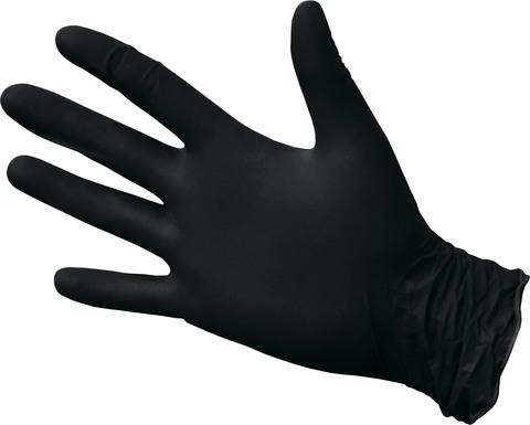 Перчатки ветеринарные для обcледований Pronitrile 100шт/уп 4,1 гр (черные)