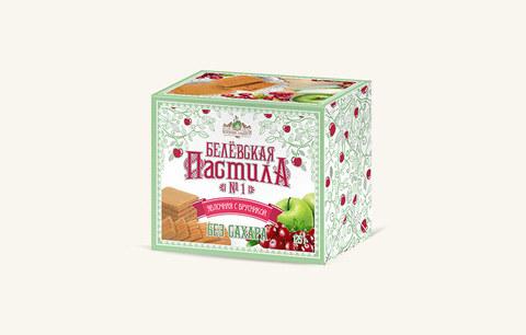 Белевская пастила с брусникой без сахара купить в Ростове