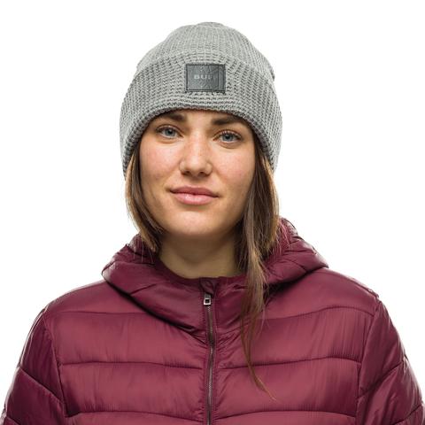 Вязаная шапка Buff Hat Knitted Kirill Pebble Grey