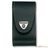 Чехол Victorinox для 91мм толщина 2-4 ур кожа черный блистер (4.0520.3B1) чехол victorinox 4 0520 31 кожаный с застежкой velkro для ножей 91мм 2 4 уровня черный