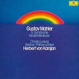 Christa Ludwig, Berliner Philharmoniker, Herbert von Karajan / Mahler: Symphony No. 5, Kindertotenlieder (2LP)