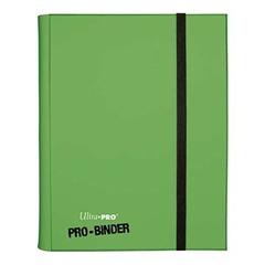 Ultra Pro - Светло-зелёный альбом для хранения карт с листами 3*3