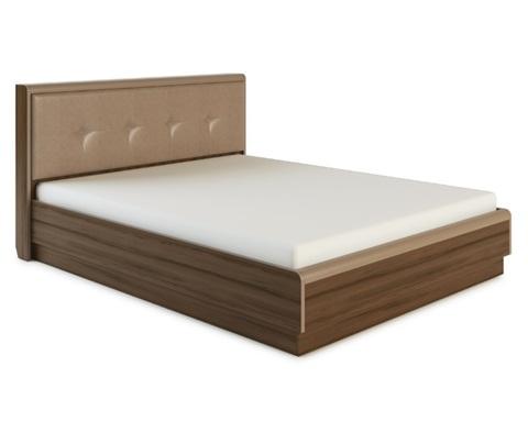 Кровать ИРАКЛИЯ-1400 с мягкой спинкой и подъемным механизмом