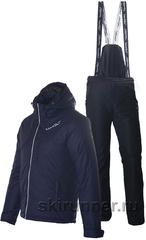 Утеплённый прогулочный лыжный костюм Nordski Premium Navy Active мужской
