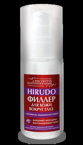Филлер-заполнитель морщин для кожи вокруг глаз с экстрактом медицинской пиявки HIRUDO 50 мл НИИ Натуротерапии