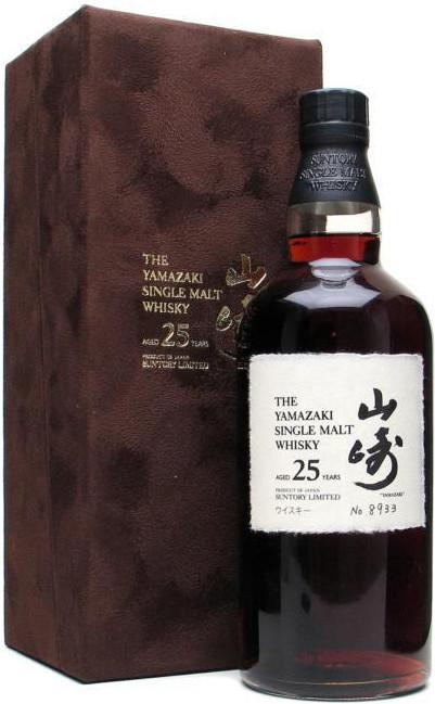 Виски Suntory Yamazaki 25 лет , 0.7 л