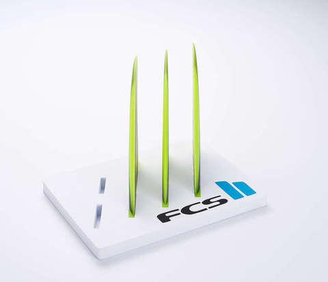 Плавники FCS II Carver Neo Glass Tri Fins Acid Gradient Medium