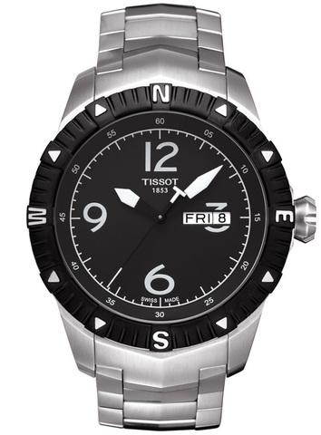 Купить Мужские швейцарские часы Tissot T-Sport T-Navigator T062.430.11.057.00 по доступной цене