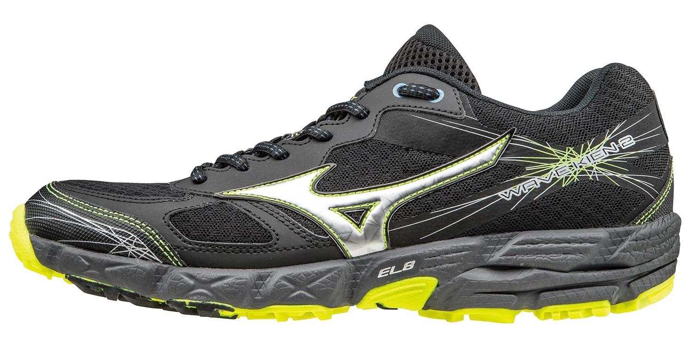 Мужские беговые кроссовки Mizuno Wave KIEN 2 (J1GJ1573 05) черные фото