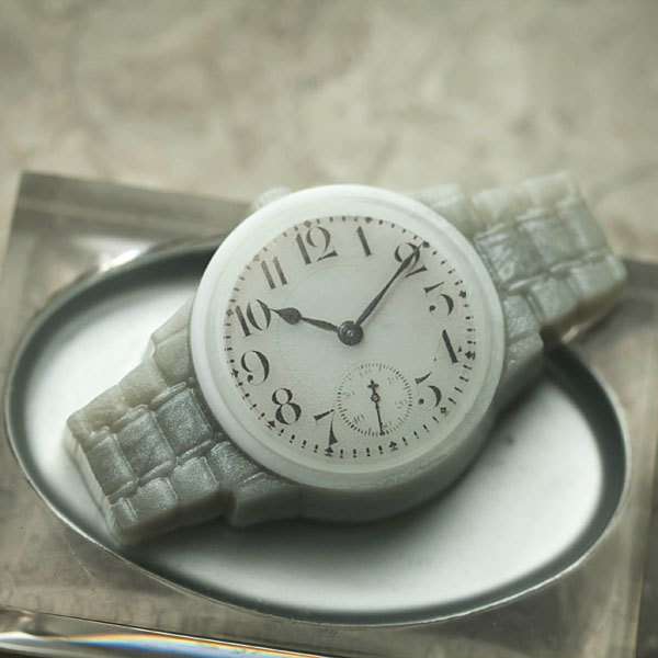 Форма для мыла Часы наручные/Металлический браслет