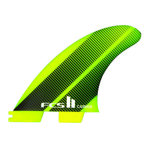 FCS II Carver Neo Glass Tri Fins Acid Gradient