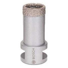 Алмазная коронка Bosch 25 мм сухое сверление для УШМ