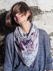 Модный шарф-труба Buff Varsity Ziada Meadow Mauve