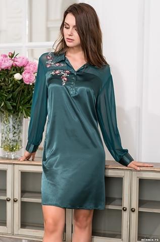 Платье-рубашка VALENSIA 3267 (70% шелк)