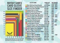 Коврик для определения размера протекторов Mayday Retail Counter Sleeve Guide