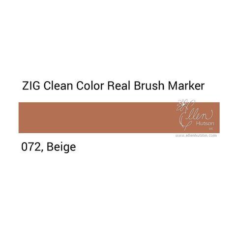 Маркер акварельный ZIG Clean Color Real Brush- штучно - 072