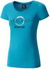 Футболка беговая Mizuno JPN Tee женская