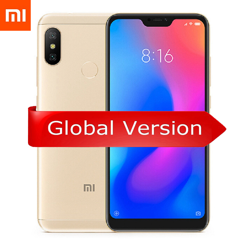 Смартфон Xiaomi Mi A2 Lite 4 / 64GB (золотой)