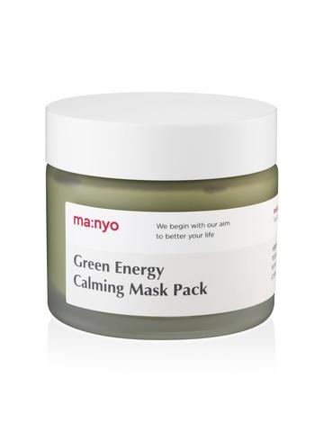 Успокаивающая маска для лица с экстрактом зеленого чая MANYO FACTORY Green Energy Calming Mask Pack