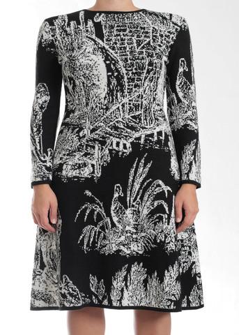 Платье из шерсти TAK.ORI