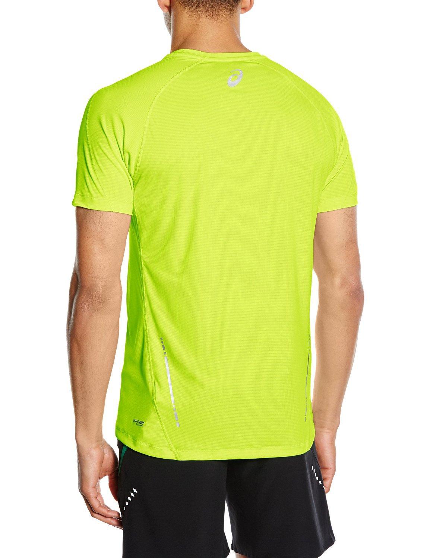 Мужская футболка для бега асикс SS Top (110407 0392) желтая