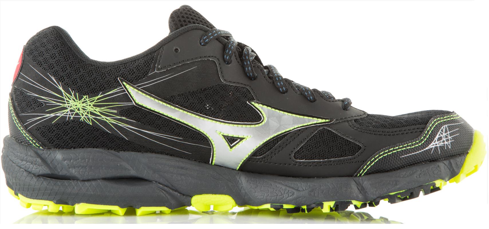 Мужские кроссовки для бега Mizuno Wave KIEN 2 (J1GJ1573 05) черные фото