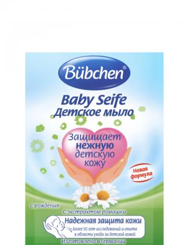 Bubchen. Детское мыло с экстрактом ромашки, 125г