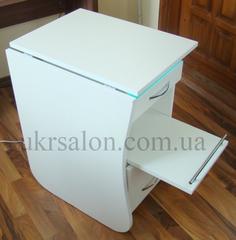 Складной маникюрный стол с бактерицидной лампой