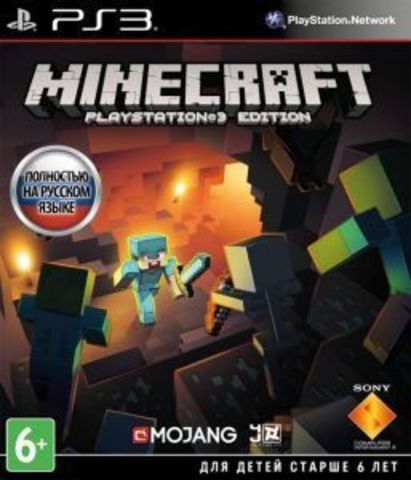 Sony PS3 Minecraft (русская версия)