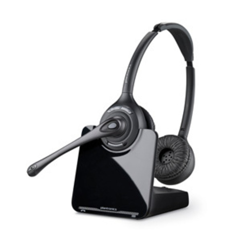 Plantronics CS520 (Over-the-head) —  (DECT) гарнитура для стационарного телефона