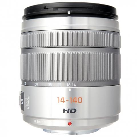 Panasonic Lumix G 14-140mm F3.5-5.6 ASPH Power O.I.S. (H-FS14140E) Silver
