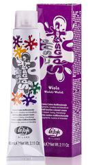 Оттенок Фиолетовый Крем-краска для волос чистый пигмент Lisap Splasher 60мл