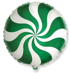 F Круг, Леденец, Зеленый, 18