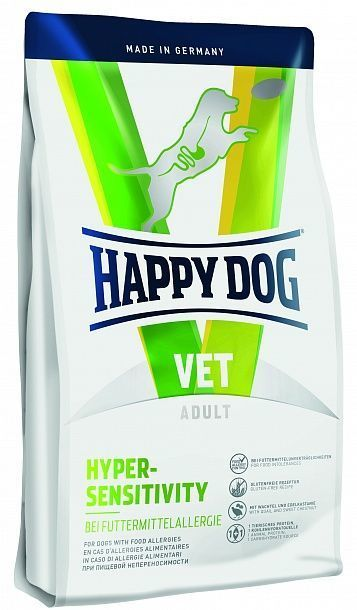 happy dog vet diet hypersensitivity. Black Bedroom Furniture Sets. Home Design Ideas