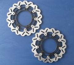 Тормозные диски передние для мотоцикла (2шт.) для Yamaha YZF-R1 04-06