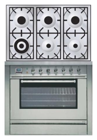 Газовая плита ILVE P-906L-MP
