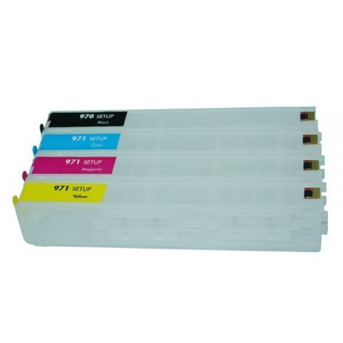 Перезаправляемые картриджи (ПЗК) HP 970/971 с чипами