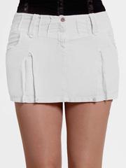 6227 юбка белая