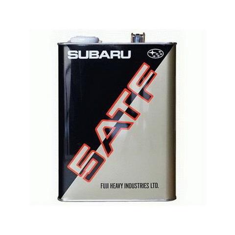 SUBARU ATF Жидкость трансмиссионная АКПП (5ти ступенчатой) (железо/Япония)