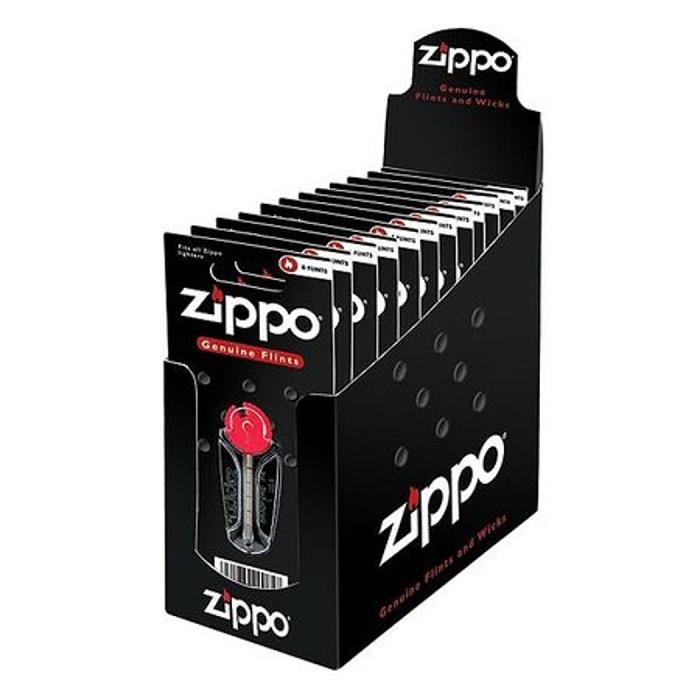 Кремний Zippo 2406N для зажигалки Zippo (6 шт в блистере)