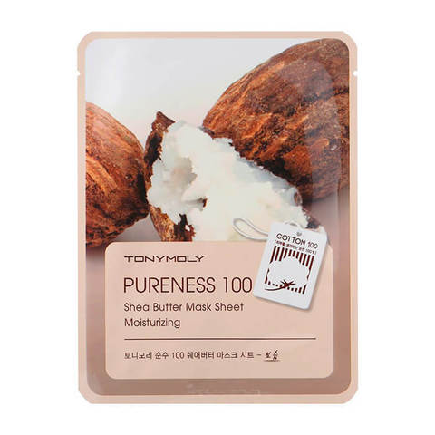 Pureness 100 Shea Butter Mask Sheet Moisturizing