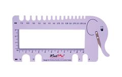 KnitPro определитель размеров спиц