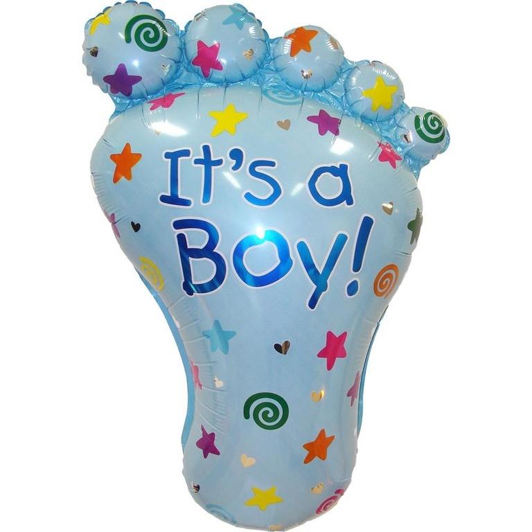 Фольгированные шары Фольгированный шар Пяточка голубая b825ad204ccb5dccd243235de3efa0299229d983.jpg