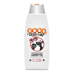 Good dog & cat антипаразитарный шампунь против блох и клещей для кошек и собак 250 мл